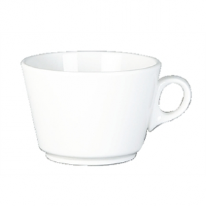 Steelite Simplicity White Grand Cafe Cups 280ml (Box 36)