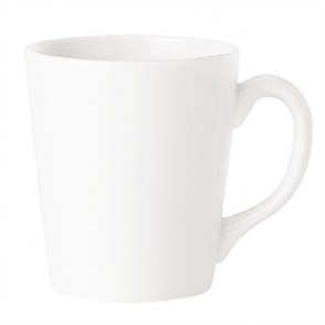 Steelite Simplicity White Coffeehouse Mugs 262ml (Box 36)