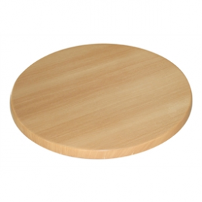 Bolero Round Table Top Beech 600mm