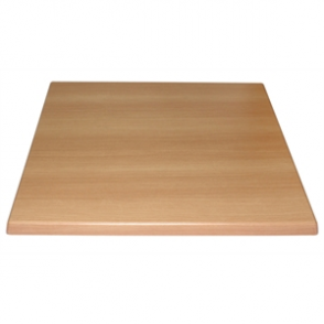 Bolero Square Table Top Beech 600mm