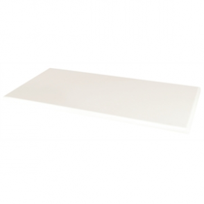Werzalit Rectangular Table Top White 1100mm