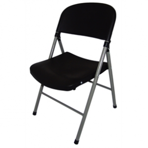 Bolero Foldaway Utility Chair Black (Pack of 2)
