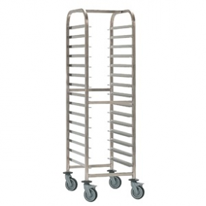 Bourgeat Patisserie Racking Trolley 20 Shelves