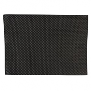 APS PVC Placemat Black (Box 6)
