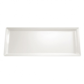 APS Pure White Rectangular Melamine Tray 650x 265mm