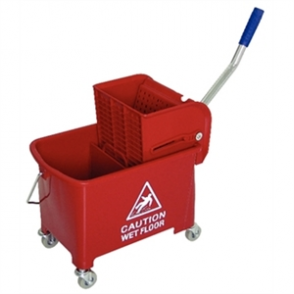 Jantex Kentucky Mop Bucket Red