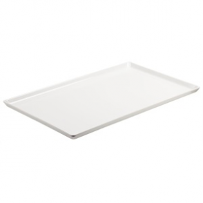 APS Float White Melamine Tray 1/1GN