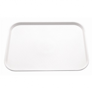 Kristallon Foodservice Tray White. 450 x 350mm