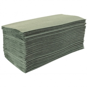 Jantex Green Z Fold Hand Towels