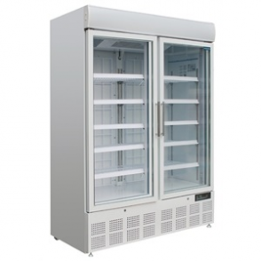 Polar Display Freezer with Light Box 920Ltr