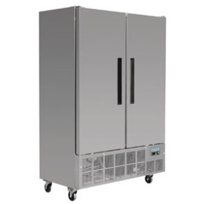 Polar 2 Door Slimline Fridge 960 Ltr
