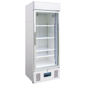 Polar Display Freezer with Light Box 412Ltr