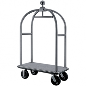 Bolero Luggage Cart Brushed St/St