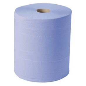 Jantex Blue Maxi Wiper Roll 2ply