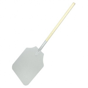 Wood Handle Aluminium Pizza Peel 31x36cm