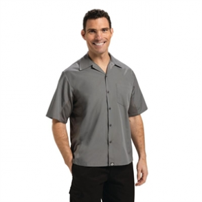 Chef Works Cool Vent Chefs Shirt Grey