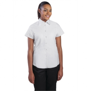 Chef Works Ladies Cool Vent Chefs Shirt White