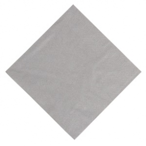 Duni Lunch Napkin 330mm Granite Grey