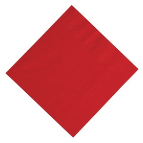 Duni Lunch Napkin 330mm Red