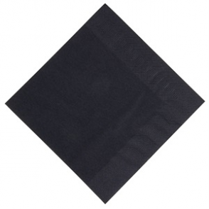 Duni Dinner Napkin 400mm Black