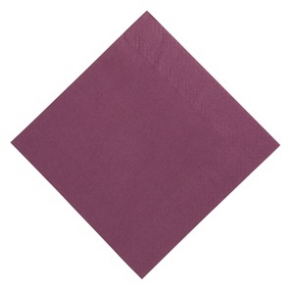 Duni Dinner Napkin 400mm Plum