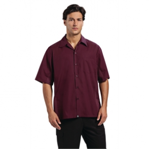 Chef Works Cool Vent Chef Shirt Merlot