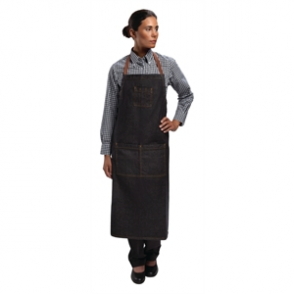 Chef Works Memphis Bib Apron Black