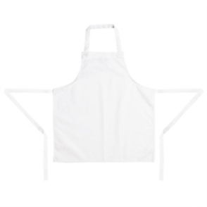 Whites Childrens Bib Apron White