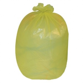 Jantex Refuse Sacks Yellow Pack of 200
