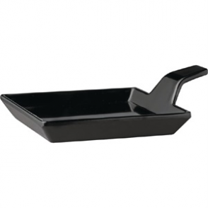 APS Melamine Fingerfood Dish Black 95mm