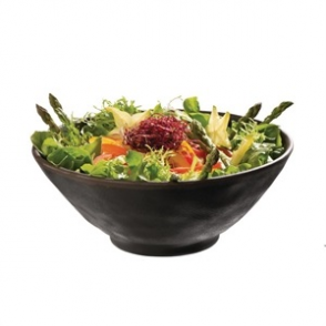 APS Marone Melamine Bowl Black 140mm