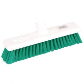 Jantex Soft Hygiene Broom Green 12in