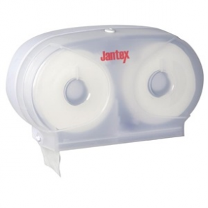 Jantex Micro Twin Toilet Roll Dispenser