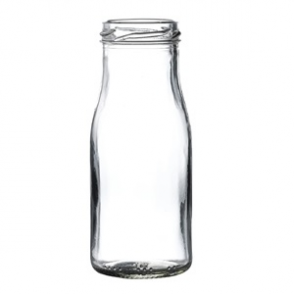 Mini Milk Bottle 155ml (18pp)