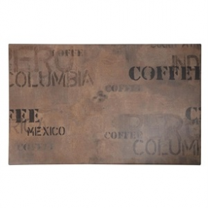 Werzalit Rectangular Table Top Coffee Sack