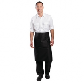 Regular Bistro Apron Black