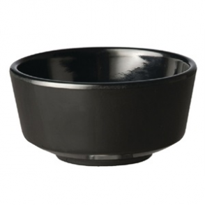APS Float Black Round Bowl 4in