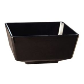APS Float Black Square Bowl 4in
