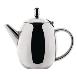 Olympia Richmond Teapot Stainless Steel 910mls