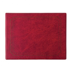 PVC Burgundy Place Mat (Box 6)