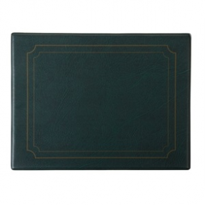 PVC Green Place Mat (Box 6)