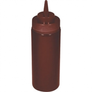 Vogue Brown Squeeze Sauce Bottle 24oz