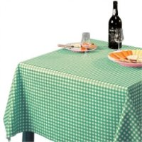 Tablecloth Green Check - 1370x1370mm 54x54