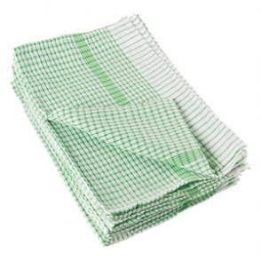 Wonderdry Tea Towels Green (Pack of 10)