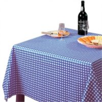 Tablecloth Blue Check - 1370x1370mm 54x54