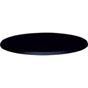 Werzalit - 60cm Round Table Top (055 BLACK)