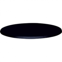 Werzalit - 80cm Round Table Top (055 BLACK)