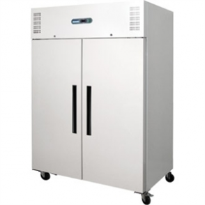 Polar Solid Double Door Freezer Painted Finish - 1200Ltr 42.4cuft