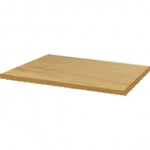 Werzalit 600mm Oak Square Table Top