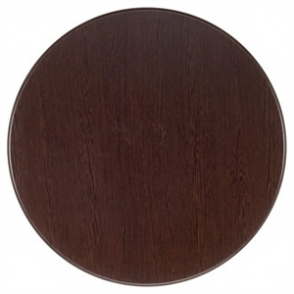 Werzalit 800mm Wenge Round Table Top